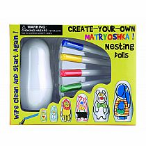 Create-Your Own Nesting Dolls