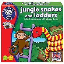 Jungle Snakes & Ladders (Mini Game)