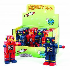 Mini Robot X-7 (Display of 12)