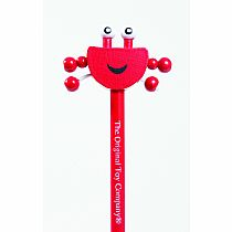 Crab Topper-Character Pencil set of 5