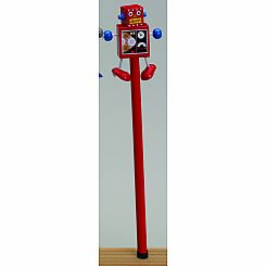 Robot Topper - Character Pencil - set of 5