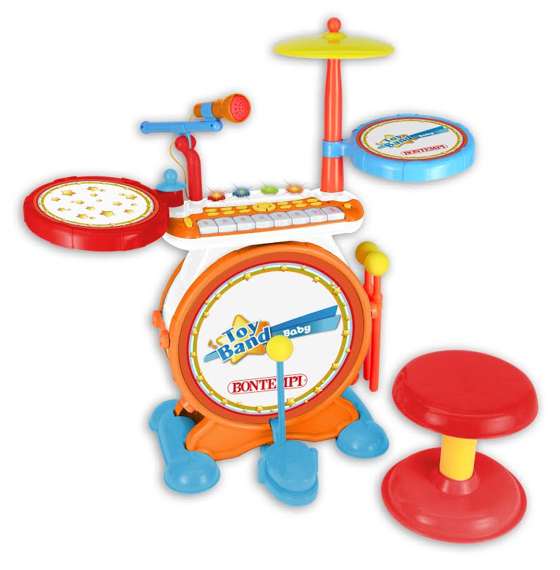 Digital Drum Set With Keyboard The Original Toy Company