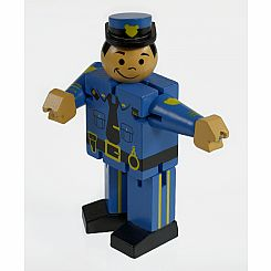Mini Police Man (Display of 12)