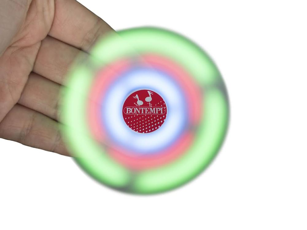 Bluetooth Led Music Spinner The Original Toy Company