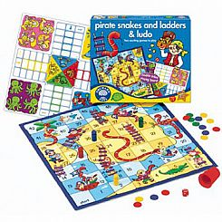 Pirates Snakes& Ladders & Ludo