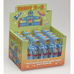 Mini Robots X-9 (Display of 12)