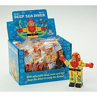 Mini Deep Sea Diver (Display of 12)