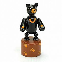 Black Bear Thumb Puppet