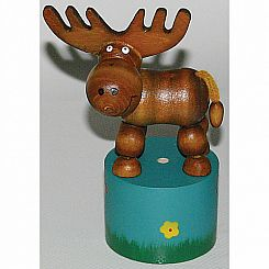 Moose Thumb Puppet